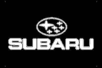 לוגו סובארו צבע לבן