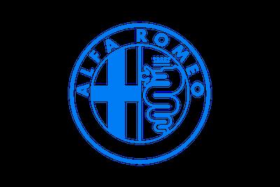 לוגו אלפא רומאו צבע כחול