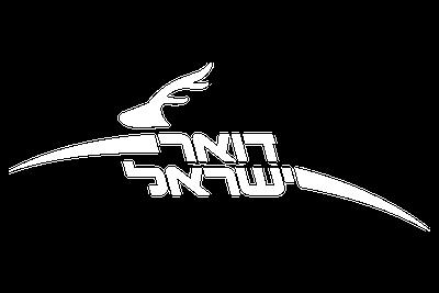 לוגו דואר ישראל צבע לבן