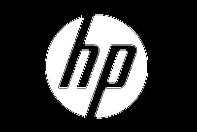 לוגו אייץ׳ פי צבע לבן