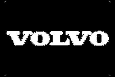 לוגו וולבו צבע לבן