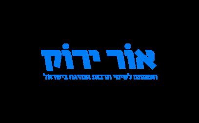 לוגו אור ירוק כחול